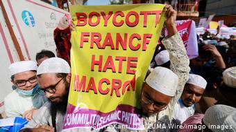 Οργισμένες διαδηλώσεις κατά του Μακρόν στο Μπαγκλαντές