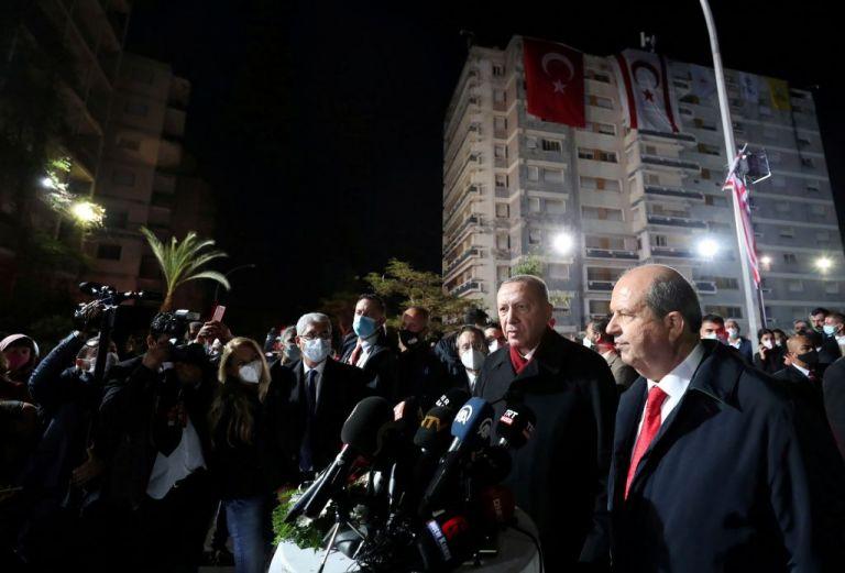 Ερντογάν από Βαρώσι : «Ξεκάθαρο ποιοι είναι οι πραγματικοί ιδιοκτήτες της περιοχής»