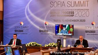 Με τον πρωθυπουργό της Βουλγαρίας Μπόικο Μπορίσοφ στην τελευταία Σύνοδο Κορυφής ΕΕ-Βαλκανίων
