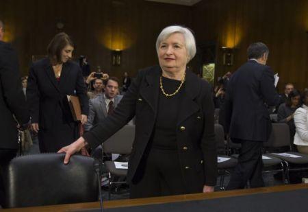Janet Yellen Testifies at Confirmation Hearing in Washington DC