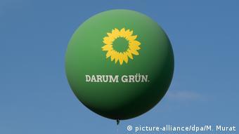 Πράσινοι, μπαλόνι, προεκλογική εκστρατεία