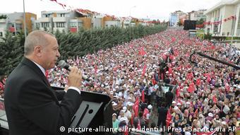 Τουρκία, προεκλογικός αγώνας, Ερντογάν