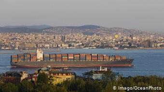 Τουρκία, Κωσταντινούπολη, εμπορευματοφόρο