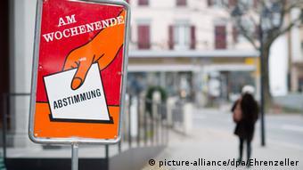 Δημοψήφισμα στην Ελβετία