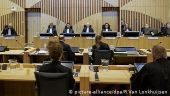 Niederlande Amsterdam Hochsicherheitsgericht Schiphol Flughafen