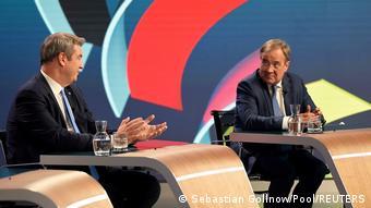 Μάρκους Ζέντερ και Άρμιν Λάσετ την Κυριακή το βράδυ στη γερμανική τηλεόραση